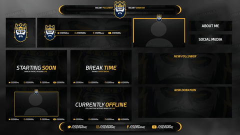 King Diamond Stream Package - Visuals by Impulse
