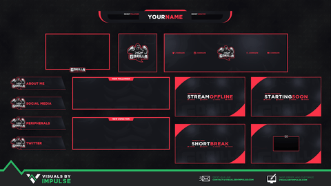 Gorilla Diamond Stream Package