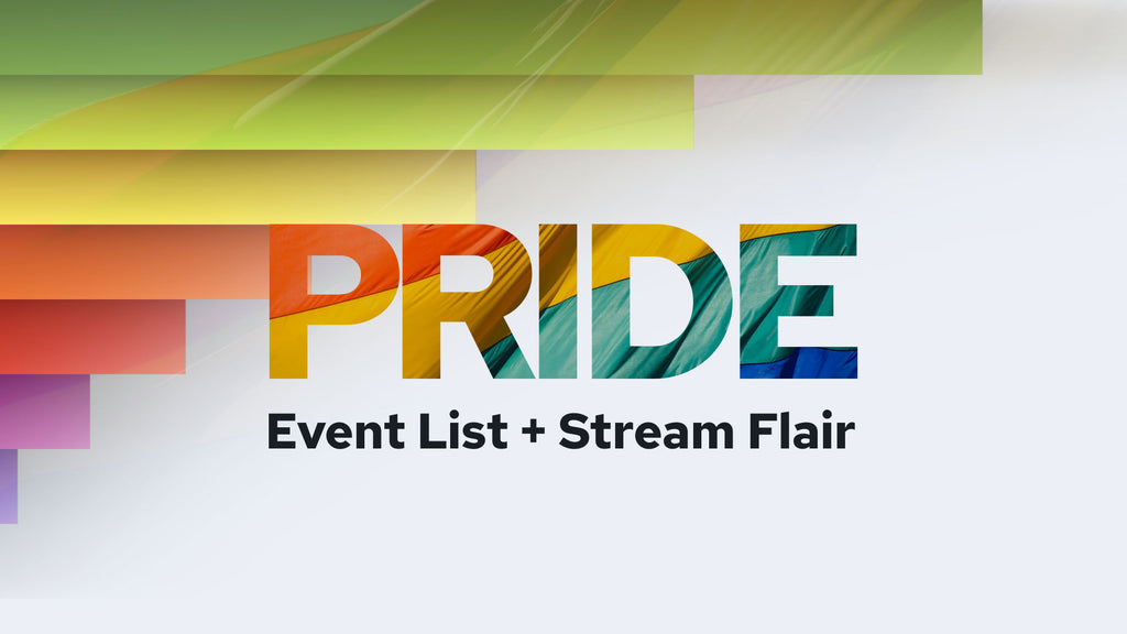 Pride Event List & Stream Flair