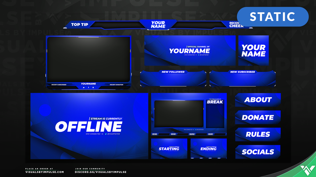 Pulse Stream Package - Visuals by Impulse