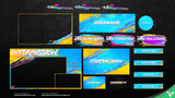 Riptide Animated Stream Package - Visuals by Impulse