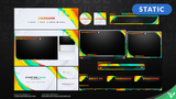 Sour Splash Stream Package - Visuals by Impulse