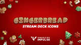 Gingerbread Stream Deck Icons