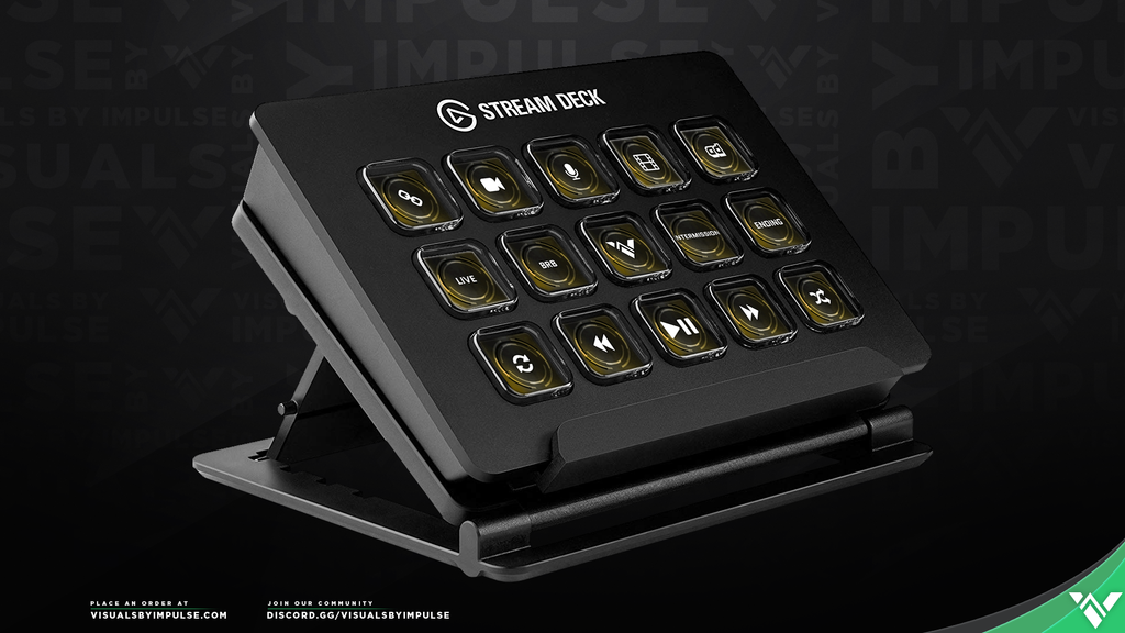 Champion Stream Deck Icons - Visuals by Impulse