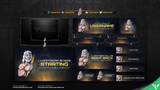 Zeus Diamond Stream Package - Visuals by Impulse