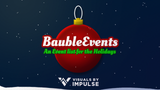 Bauble Events Animated Event List