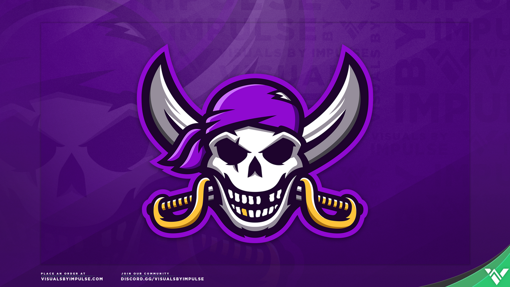 Pirate Mascot Logo - Visuals by Impulse