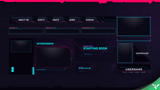 Cyberpunk Stream Package - Visuals by Impulse