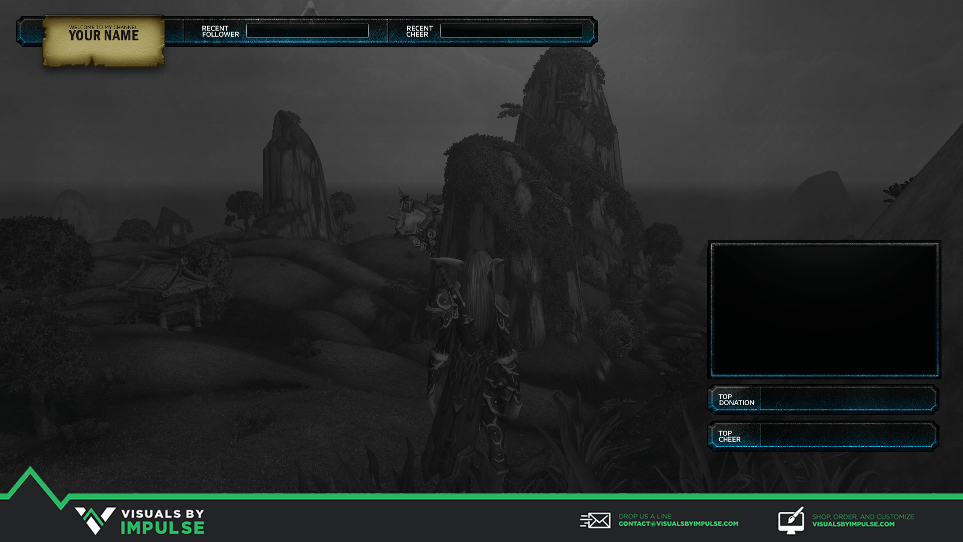 Maker - Twitch Overlay | Visuals by Impulse