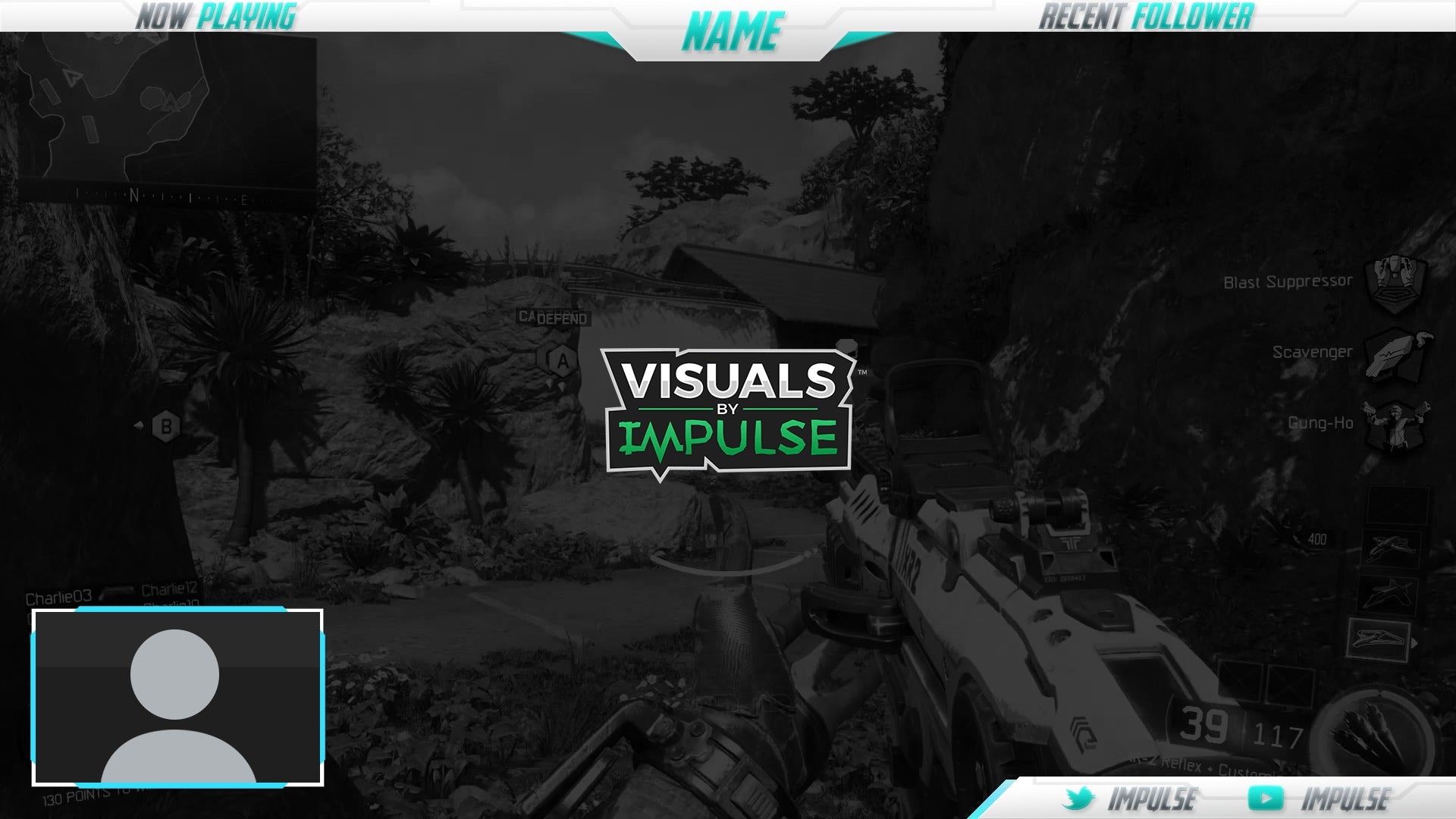 how to set up a twitch overlay