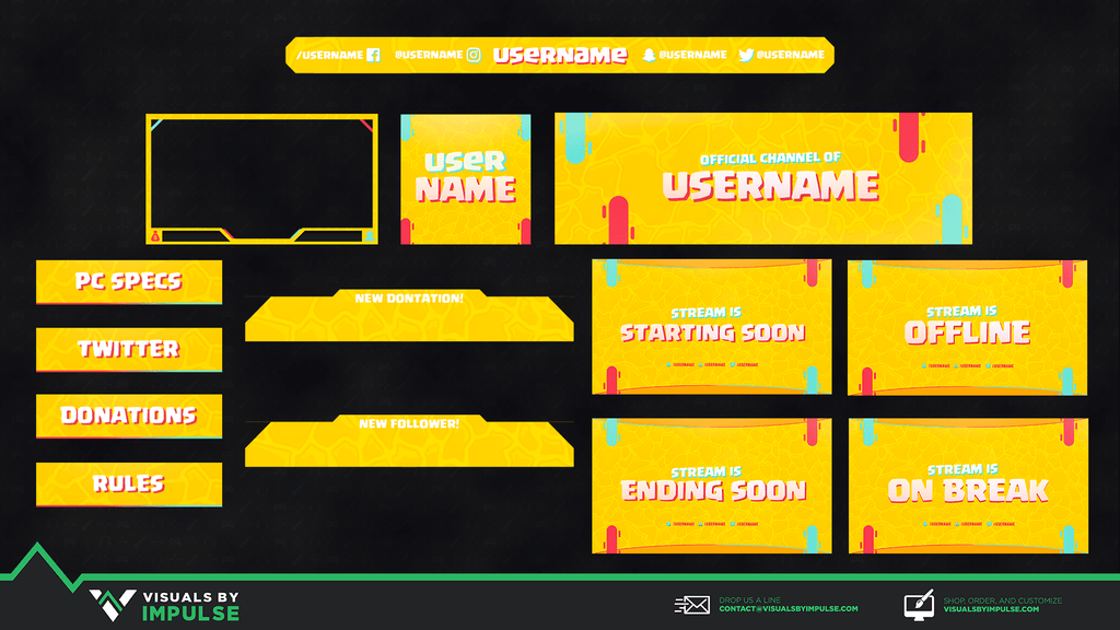 Stream Package - Honeycrisp Stream Package