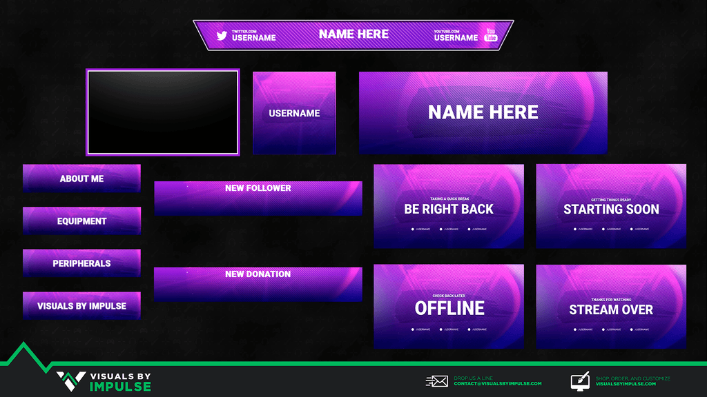 Stream Package - Symmetrical Stream Package