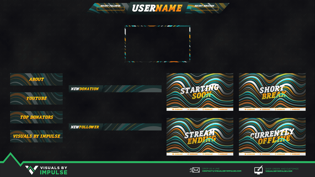 Stream Package - Waves Stream Package