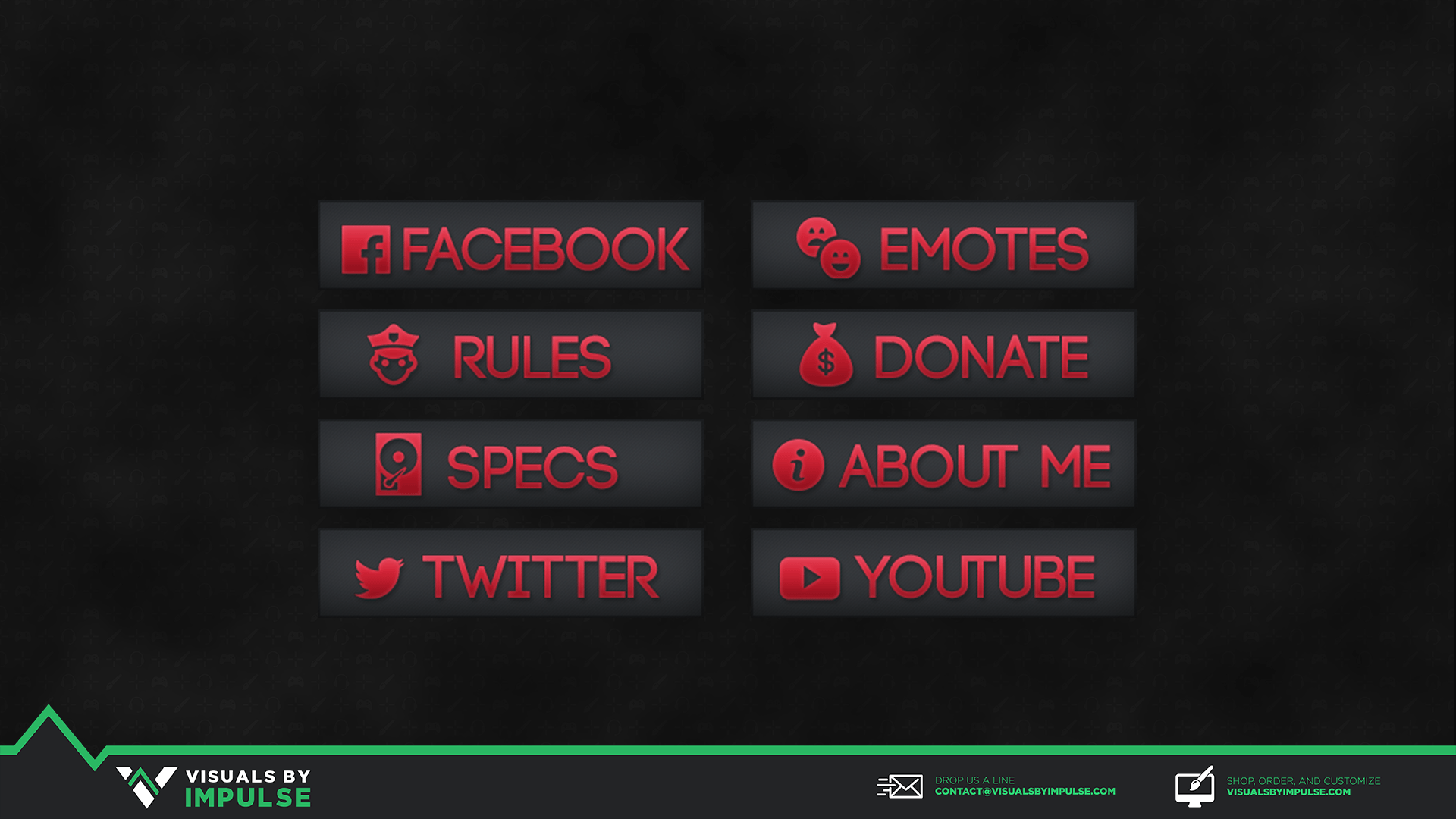 colored twitch panels