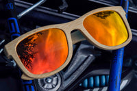ALPINE FIRE - BAMBOO SUNGLASSES