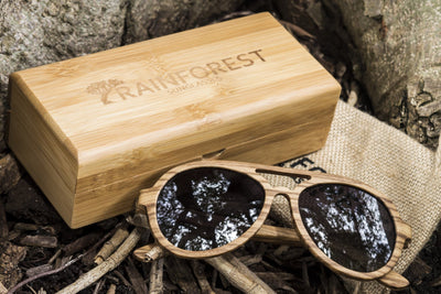 SEAFARER AVIATOR - WOOD SUNGLASSES