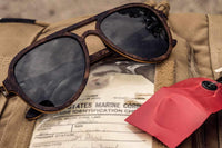 CORSAIR - DESIGNER WOOD SUNGLASSES