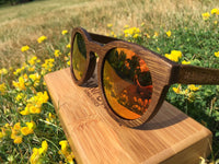 The Understory Fire: Stunning fire-red, Revo mirrored lenses