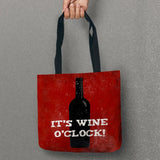 Wine Lovers Quotes Tote Bags (4 Quotes)