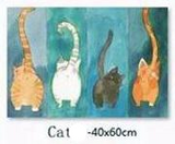 """Cutest Cats Derrières"" Floor Mat (5 Sizes)"