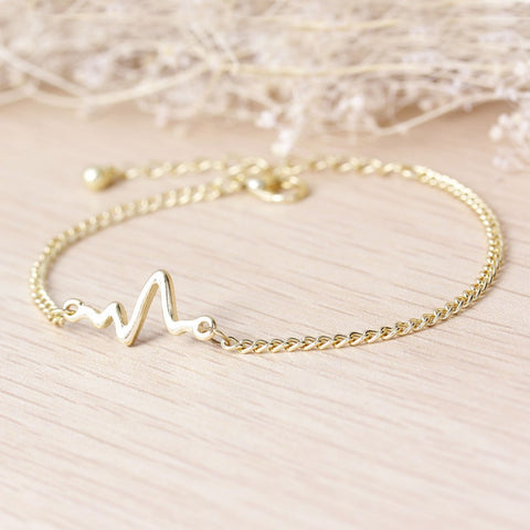 Nurses ECG Heartbeat Bracelet (2 Colors)