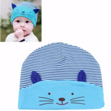 """Cat Ears"" Baby Beanie Hat (5 Colors)"