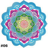 "Yoga ""Lotus Flower Mandala"" Meditation Mat (7 Colors)"