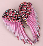 Angel Wings Crystal Brooch Pin (14 Colors)