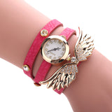 Angel Wings Wrap-Around Bracelet Watch (13 Colors)