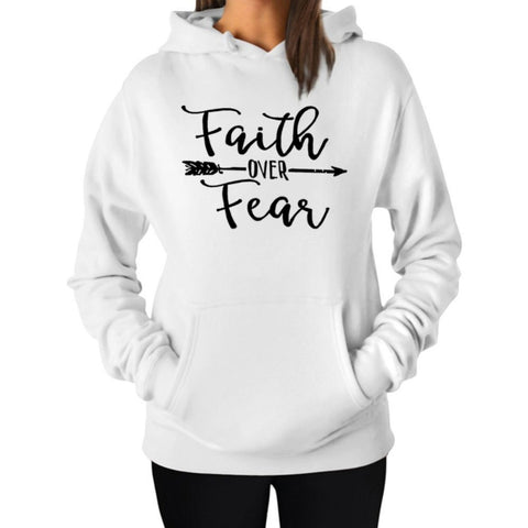 """Faith Over Fear"" Hoodie (3 Colors)"