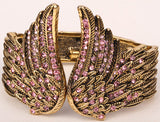 Angel Wings Crystal Bracelet (10 Colors)