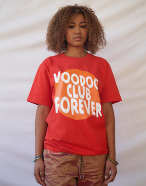 Voodoo Club Forever Tee - Red
