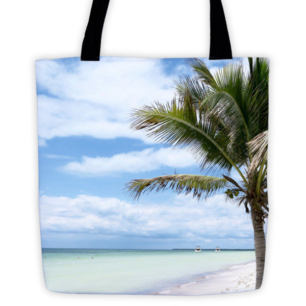 breezy swirls tote bag