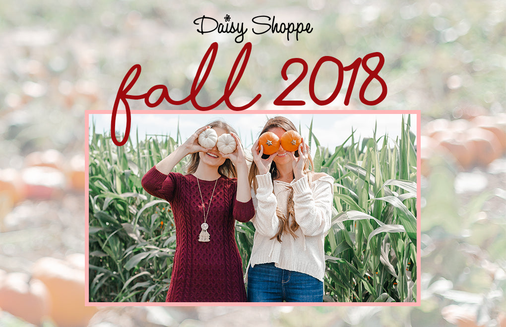 Fall 2018 Pumpkin Patch Lookbook - Daisy Shoppe