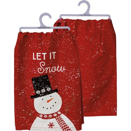 Let It Snow Dish Towel (103883)