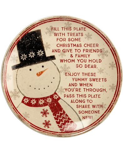 Christmas Giving Plate (101202)