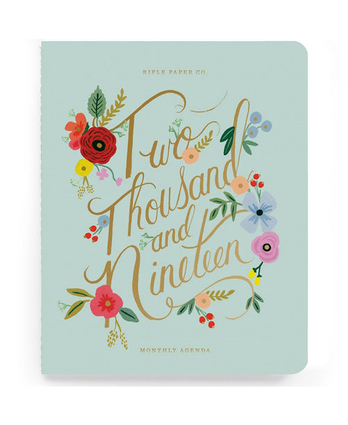 2019 Bouquet Appointment Notebook by Rifle Paper Co.