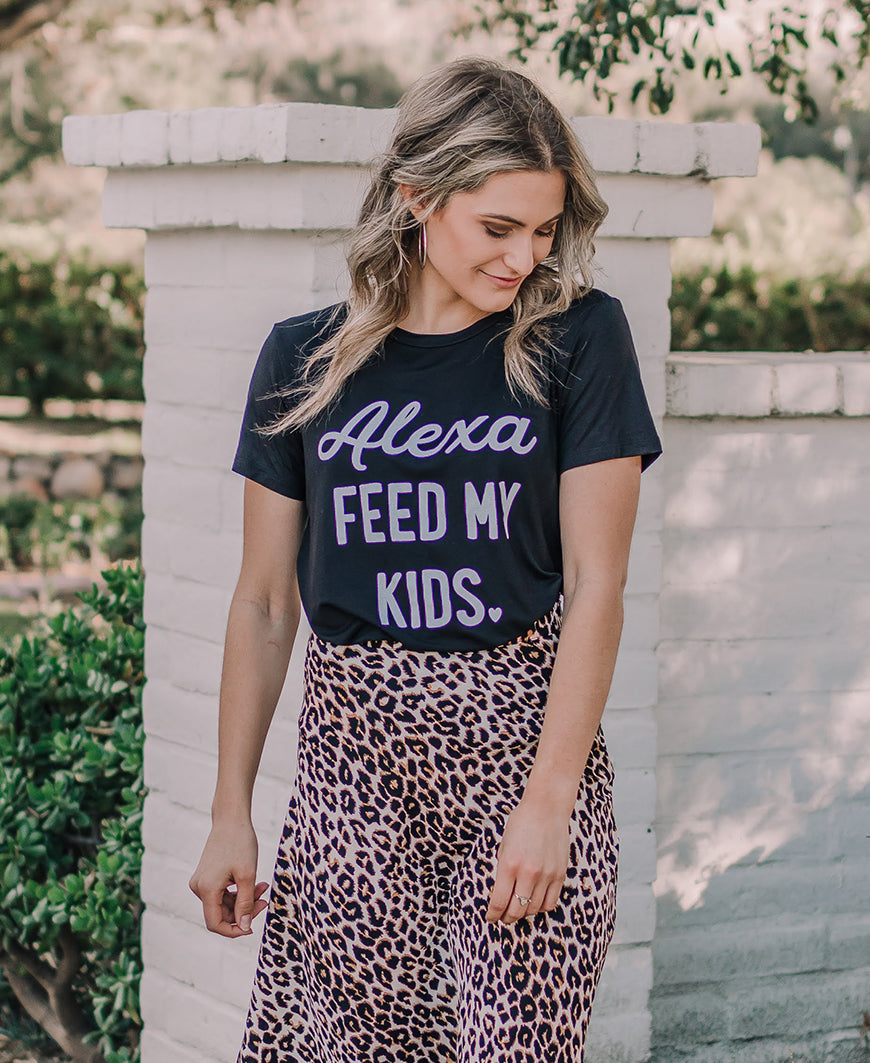 Alexa, Feed My Kids Tee (F201-0693)