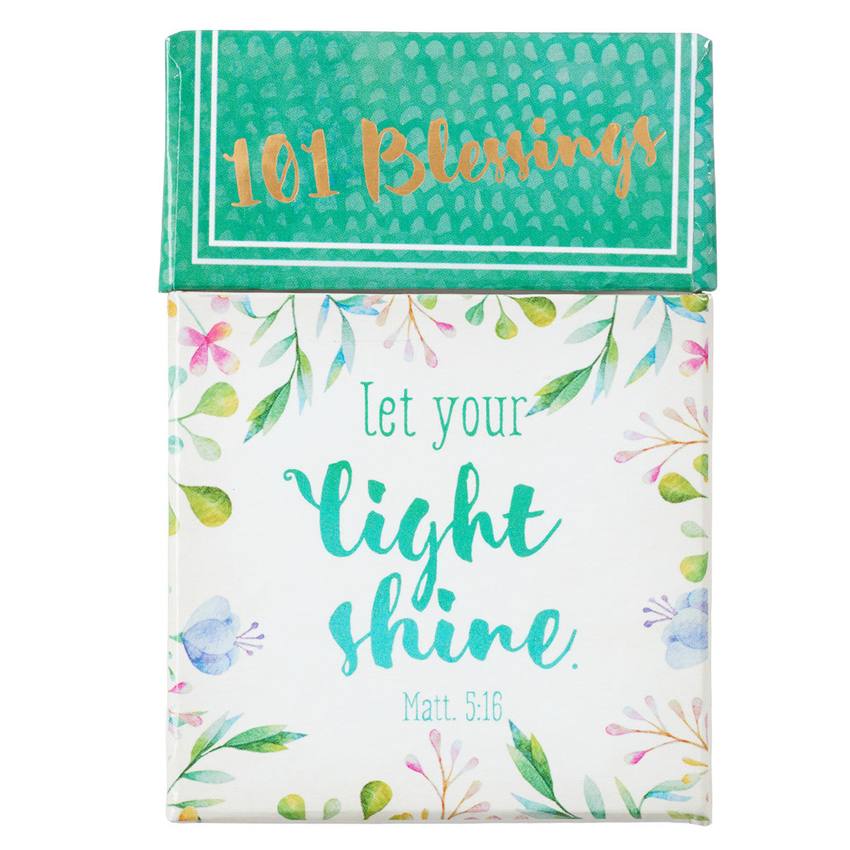 Let Your Light Shine Box of 101 Blessings (BX107)