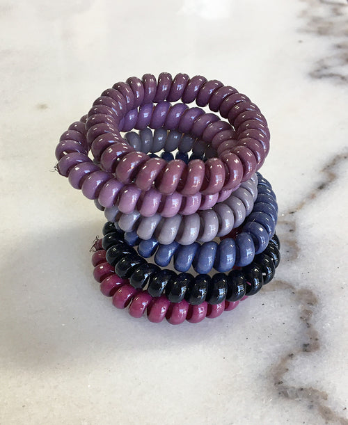 Berry Cord Hair Tie Set