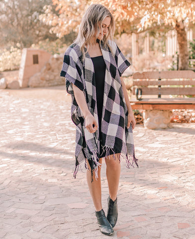 Blue Striped Jersey Robe