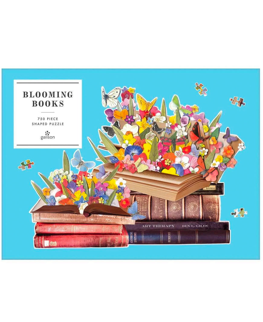 Blooming Books 750 Piece Shaped Puzzle (CURBSIDE PICK UP)