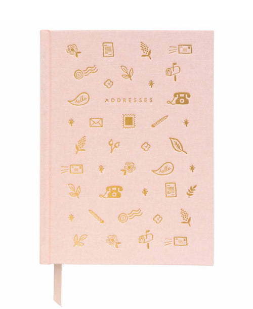 Blush Address Book by Rifle Paper Co. (ABH002)