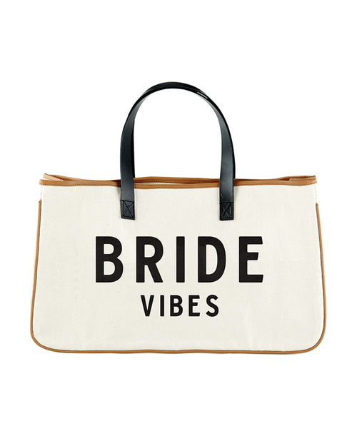 Bride Vibes Tote Bag (F3808)