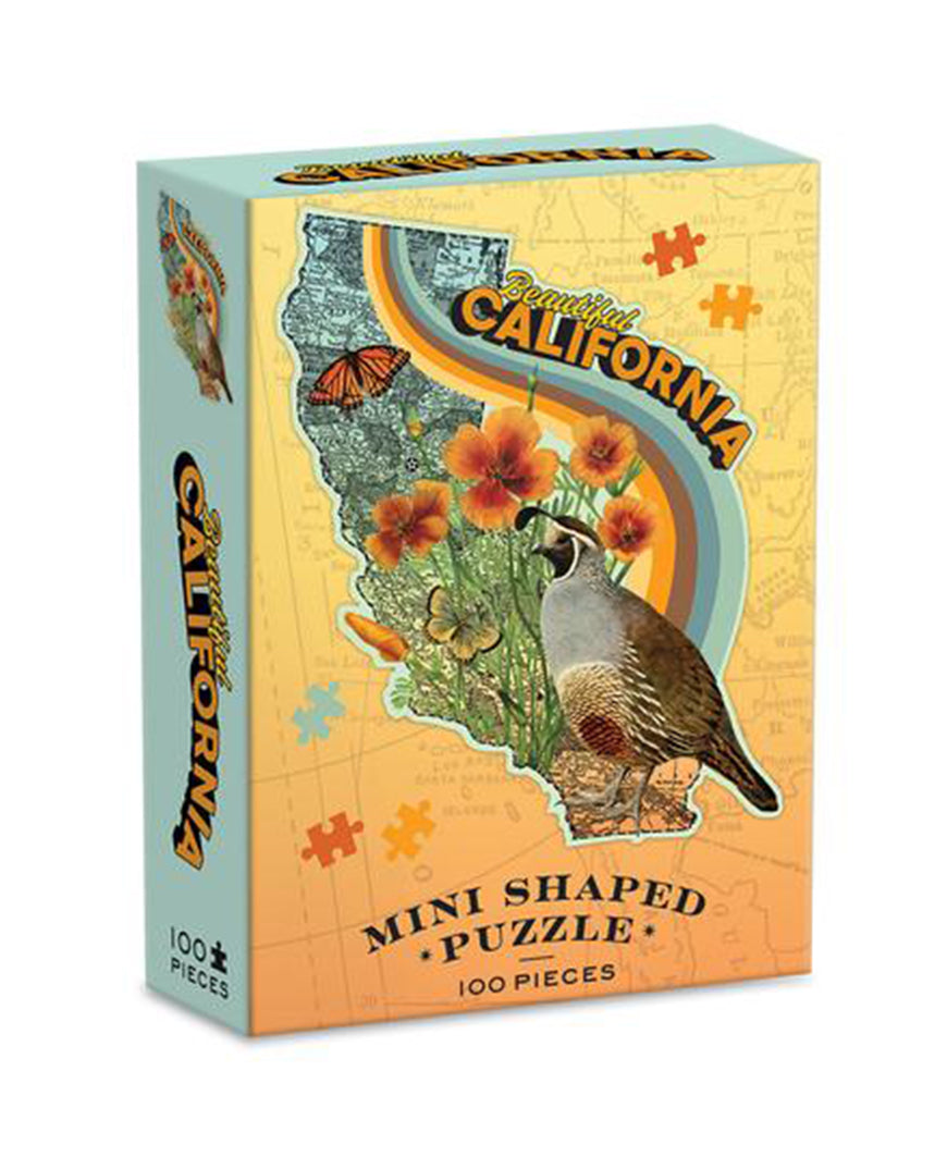 Beautiful California Mini 100 Piece Puzzle