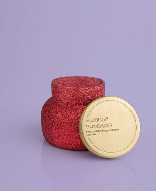 Volcano Red Glam Petite Candle, 8 oz