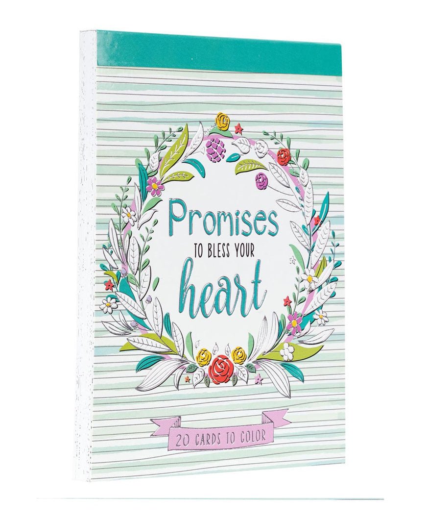 Promises to Bless Your Heart Coloring Cards