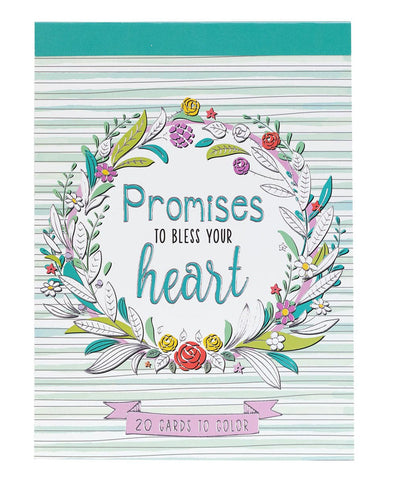 Colorful Blessing Coloring Cards