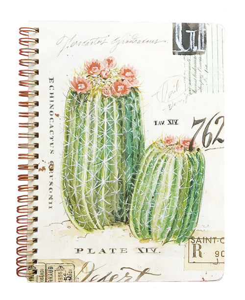 Cactus Medium Spiral Notebook