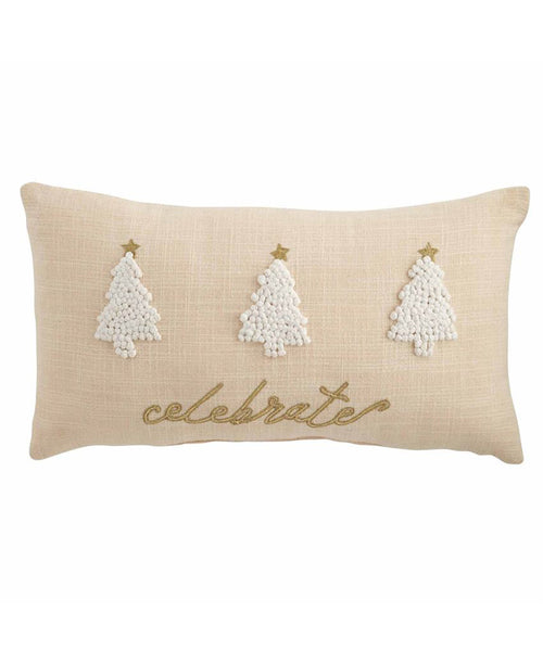 Celebrate Christmas Tree Pillow (41600405T)